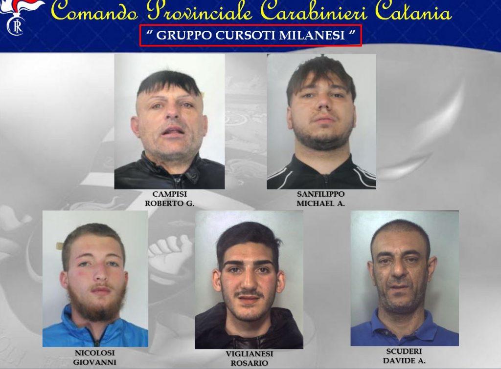 Arrestati clan Cursoti milanesi