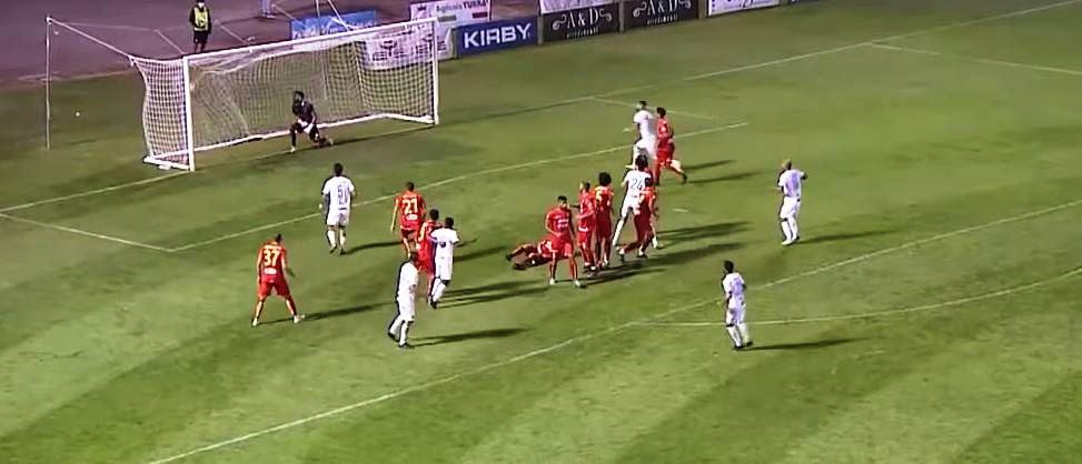 Catanzaro - Catania, il gol di Russini