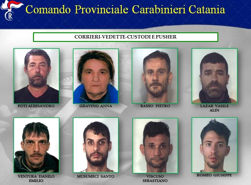 """Operazione """"Quadrilatero"""": gli arrestati"""
